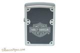 Zippo Harley Davidson Carbon Fiber Logo Lighter