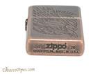 Zippo Harley Davidson Copper Eagle Lighter Bottom
