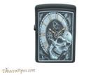 Zippo Skull Clock Lighter