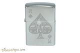 Zippo Luck Ace of Spades Goth Lighter