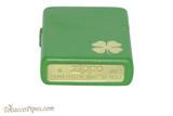 Zippo Luck Four Leaf Clover Lighter Bottom