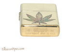 Zippo Cannabis Fusion Pot Leaf Lighter Bottom