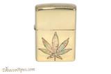 Zippo Cannabis Fusion Pot Leaf Lighter