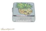 Zippo Cannabis Pineapple Leaf Skull Lighter Bottom