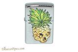 Zippo Cannabis Pineapple Leaf Skull Lighter