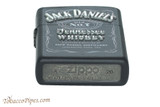 Zippo Spirits Jack Daniels Texture Print Lighter Bottom
