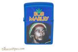Zippo Music Bob Marley Royal Blue Lighter