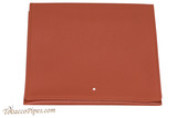 Dunhill White Spot Roll Up Terracotta Tobacco Pouch PA2020