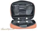 Dunhill White Spot Terracotta Pipe Companion XL Pouch PA2022XL Open