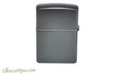 Zippo Pattern Iced Carbon Fiber Lighter Back