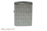 Zippo Pattern Hexagon Armor Lighter