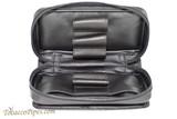 Dunhill White Spot Classic 3 Pipe Case PA8229 Open
