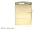 Zippo Brass Paisley Zippo Logo Lighter Back