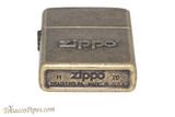 Zippo Antique Brass Zippo Stamp Lighter Bottom