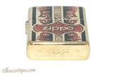Zippo Brass Fusion Zippo Logo Lighter Bottom