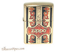 Zippo Brass Fusion Zippo Logo Lighter