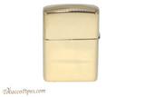 Zippo Brass Coiled Zippo Logo Lighter Back