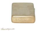 Zippo Classic Armor Tumbled Brass Lighter Bottom