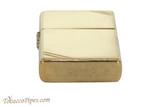 Zippo Classic Vintage Polished Brass Slash Lighter Bottom