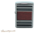 Zippo Classic Steel and Wood Lighter
