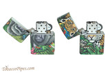 Zippo 540 Color Mysteries Of The Forest Lighter Set Open