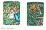 Zippo 540 Color Mysteries Of The Forest Lighter Set Back