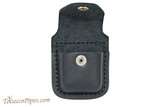 Zippo Harley Davidson Leather Lighter Pouch Open