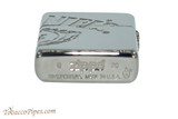 Zippo Jack Daniels Armor Multicut Logo Lighter Bottom