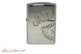 Zippo Jack Daniels Armor Multicut Logo Lighter