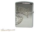 Zippo Jack Daniels Armor Multicut Logo Lighter Back