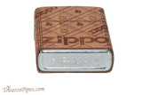 Zippo Woodchuck USA Cedar Wrap Lighter Bottom