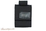 Zippo Black Tactical Pouch and Lighter Set Pouch Front