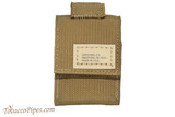 Zippo Coyote Tactical Pouch and Lighter Set Pouch Front