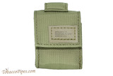 Zippo OD Green Tactical Pouch and Lighter Set Pouch Front