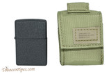 Zippo OD Green Tactical Pouch and Lighter Set