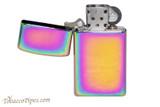 Zippo Classic Slim Spectrum Lighter Open
