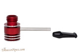 Radiator Pipes Stubby Straight Tobacco Pipe Frame Polished Red Apart