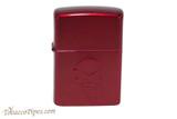 Zippo Skull Red Apple Doom Lighter