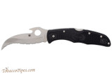 Spyderco Matriarch 2 Black C12SBK2W Folding Knife