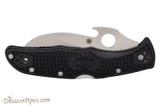 Spyderco Matriarch 2 Black C12SBK2W Folding Knife Front