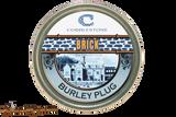 Cobblestone Brick Burley Plug Pipe Tobacco Front