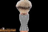 Parker GGST Long Handle Silvertip Badger Brush