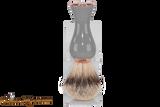 Parker GGST Long Handle Silvertip Badger Brush & Stand