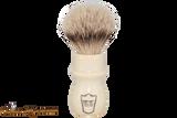 Parker WMST Deluxe Silvertip Badger Shave Brush