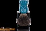 Parker BLBB Black Badger Shave Brush & Stand