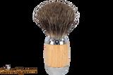 Taconic Shave TSBMB Beechwood Mixed Badger Shave Brush
