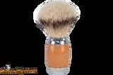 Taconic Shave TSBST Beechwood Silvertip Badger Shave Brush