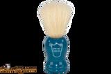 Parker BLBO Blue Wood Boar Shave Brush