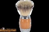 Taconic Shave TSBSY Beechwood Synthetic Shave Brush