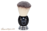 Parker BCSY Black Synthetic Shave Brush